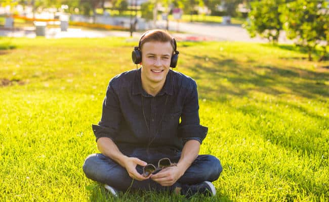 Listen music stress management