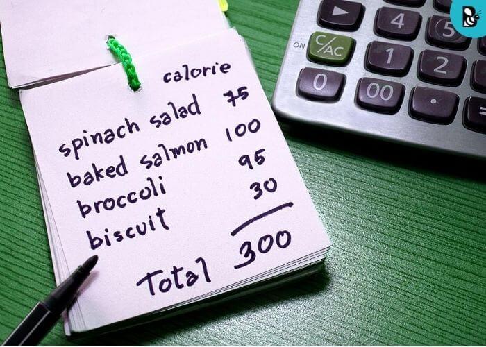 calorie chart healthbeautybee